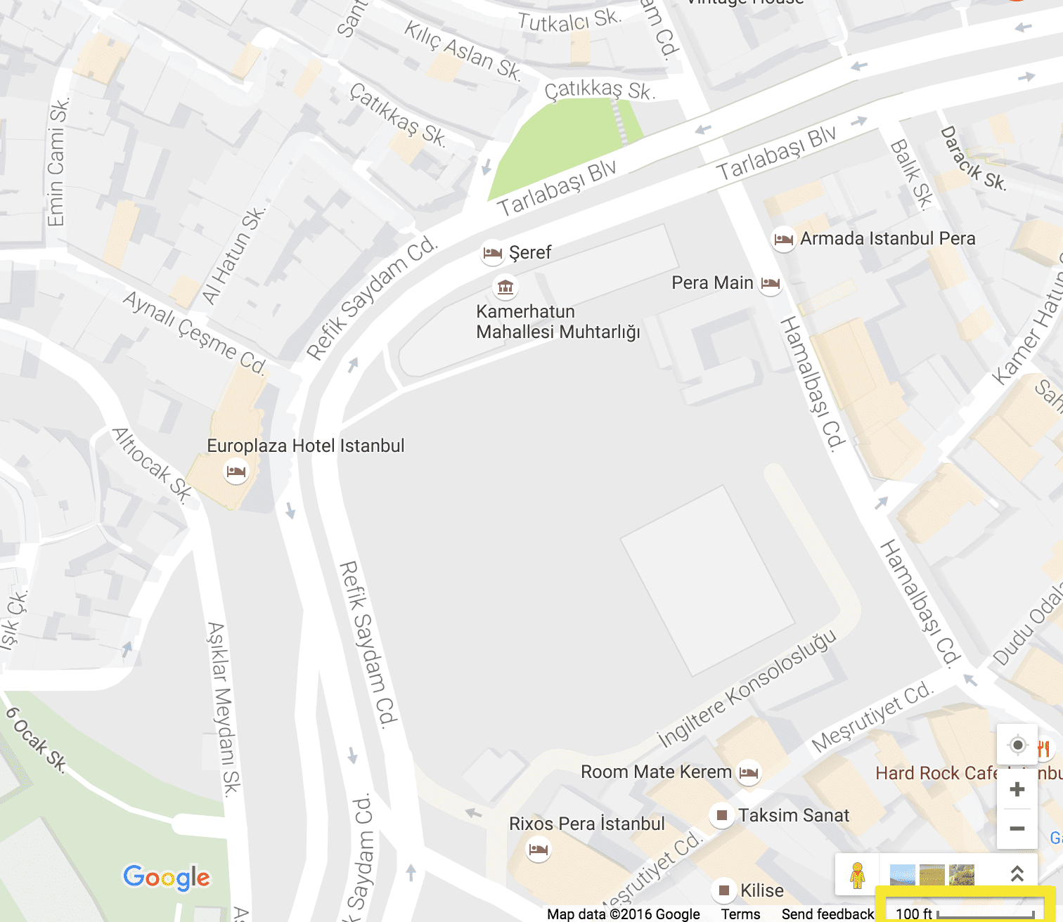 Istanbul - Google Mapsv1