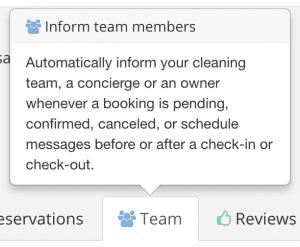 Smartbnb - Team Component
