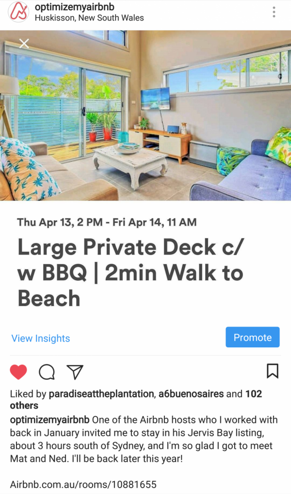 Airbnb Huskisson, New South Wales