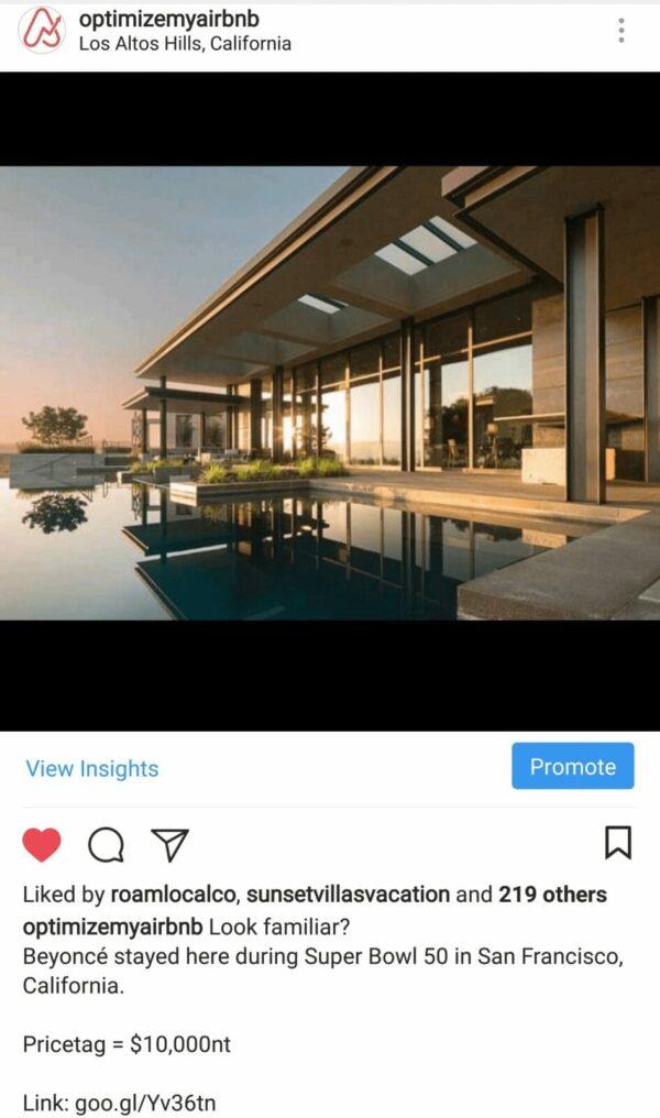 Airbnb in Los Altos Hills, California
