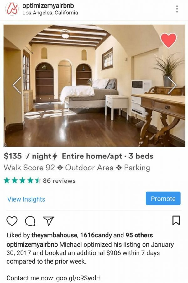 Airbnb in Los Angeles, California