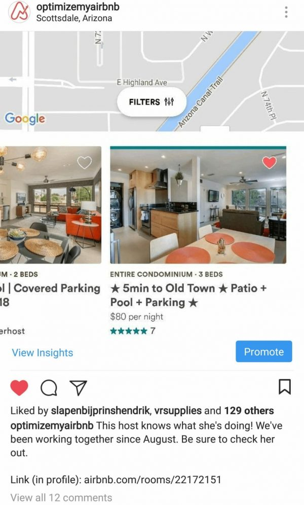 Airbnb in Scottsdale, Arizona