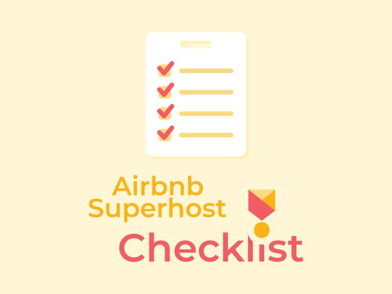 Airbnb Superhost Checklist 1