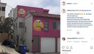 airbnb emoji house