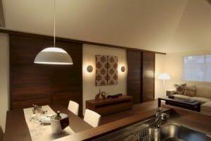 airbnb Winter lighting