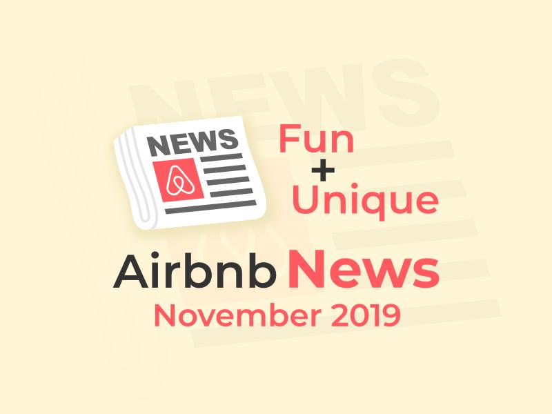 airbnb news november 2019
