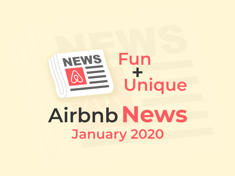 airbnb news January 2020