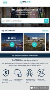 3 bagbnb home screen application