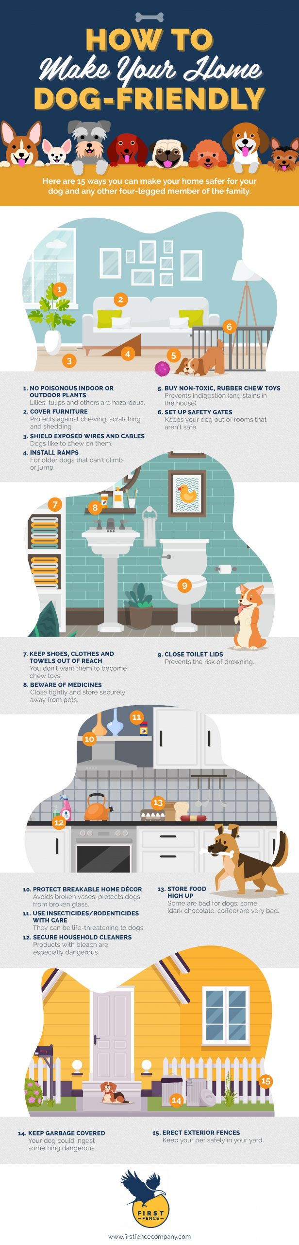 airbnb pet friendly amenities graphic