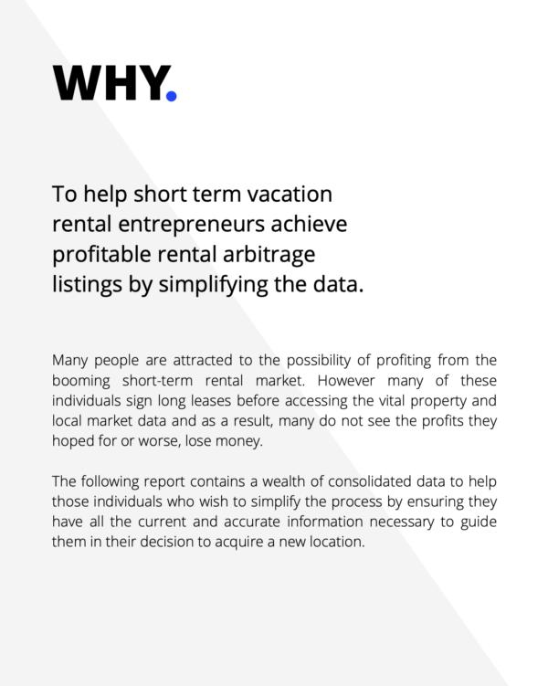 buy Vacation Rental Market Analysis