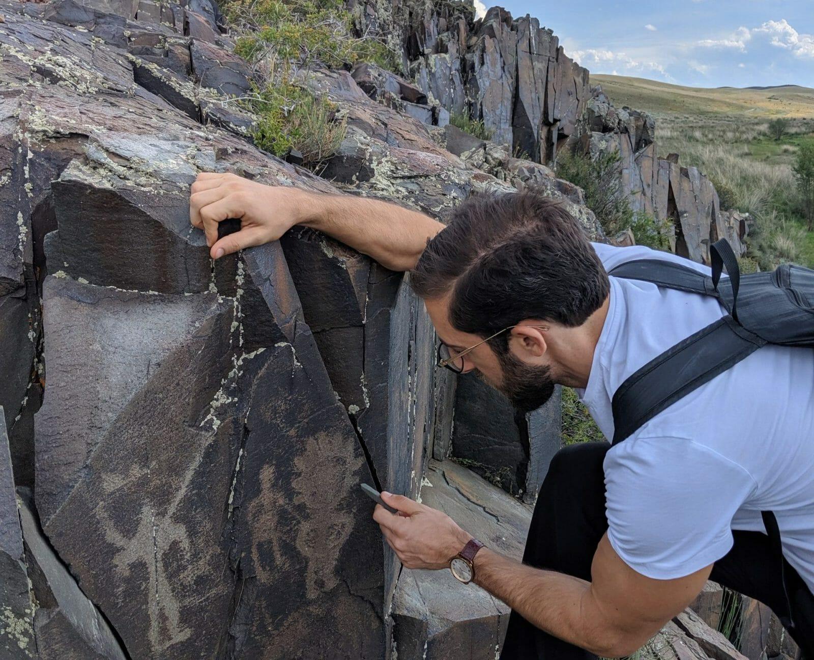 create a custom airbnb guest itinerary rock carvings kazakhstan