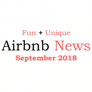 Airbnb news september 2018