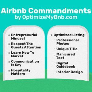 Airbnb Commandments By OptimizeMyBnb.com 5